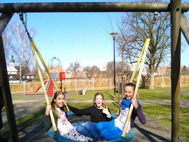 My co spolu na dětském hřišti :-)