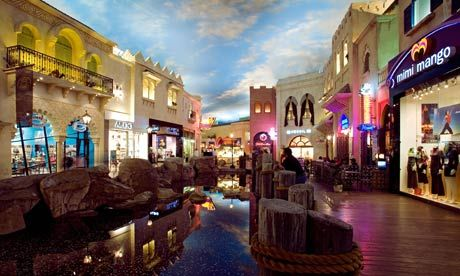 A couple of casinos have great malls attached to them – malls with unique shops and reasonable prices - The Caesars' Forum Shops & The Miracle Mile at Planet Hollywood.