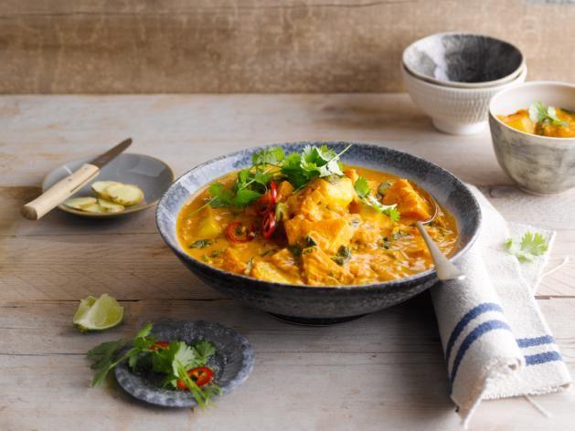 Een heerlijke groente stoofschotel met Alpro Go On Naturel Vegan Alpro