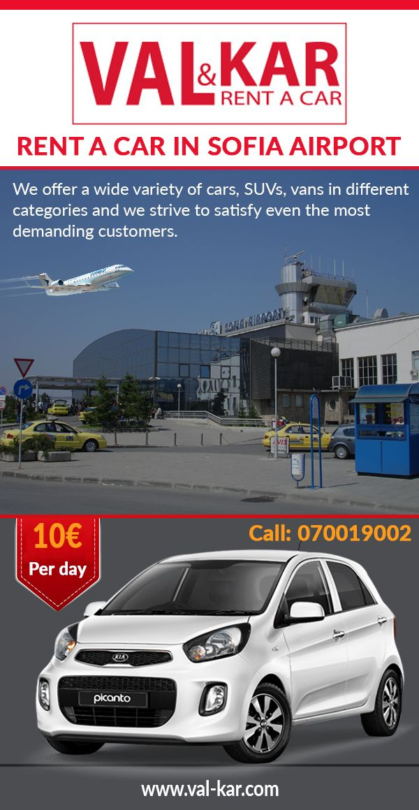 Sofia is a huge tourist attraction because it is the capital of Bulgaria and has many noteworthy places to be seen. The places, mostly visited by the tourist include National art gallery, Boyana church, National Historical museum and many more. So, if you want to rent a car in Sofia airport get in touch with Val & Kar Rent a Car Bulgaria. We provide a lot of facilities to our customers. To know more about our services do visit our website.