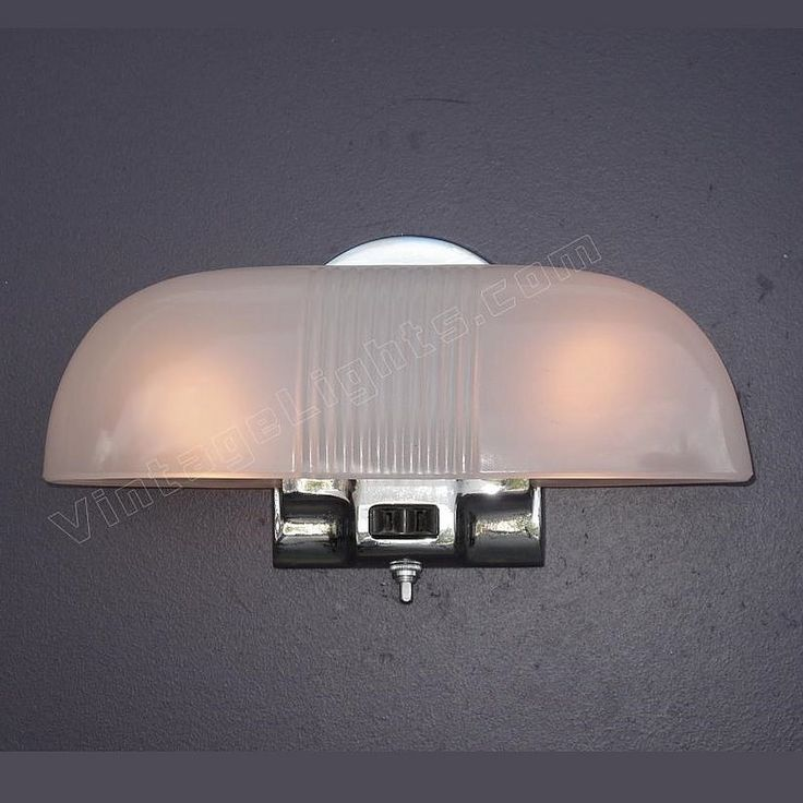 157 best vintage bathroom light fixtures images on - Art deco bathroom lighting fixtures ...