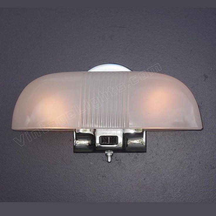 157 Best Images About Vintage Bathroom Light Fixtures On Pinterest Wall Lighting Subway Tile