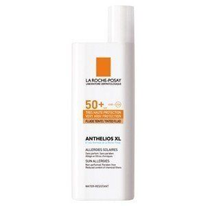 La Roche-Posay Anthelios XL Tinted Fluid SPF 50+ 50ml by La Roche-Posay. $44.95. Non-Comedogenic. Water resistant.. Fragrance-free.. Paraben free.. Lighter in chemical filters.. Tinted, very high facial protection. Ultra UVA (PPD 34).. Skin subject to sun intolerance, commonly known as sun allergies. Extreme sun exposure. Prevention of pregnancy mask. Drug-induced photo sensitivity.  Properties Very high, broad, photo stable UVA/UVB protection. Optimal SPF 50+ p...