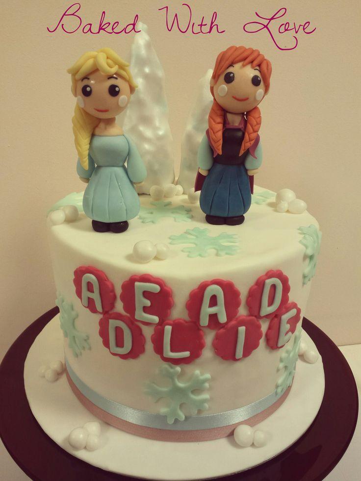 Forzen Cake #BakedWithLove Federica Santimaria