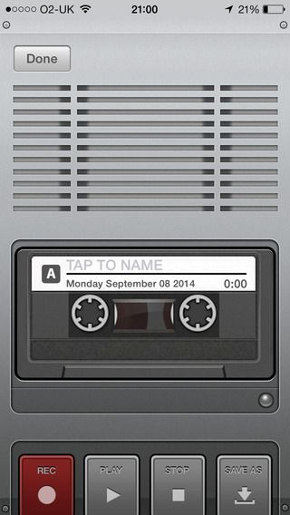 Voice Recorder for the iPhone and iPad