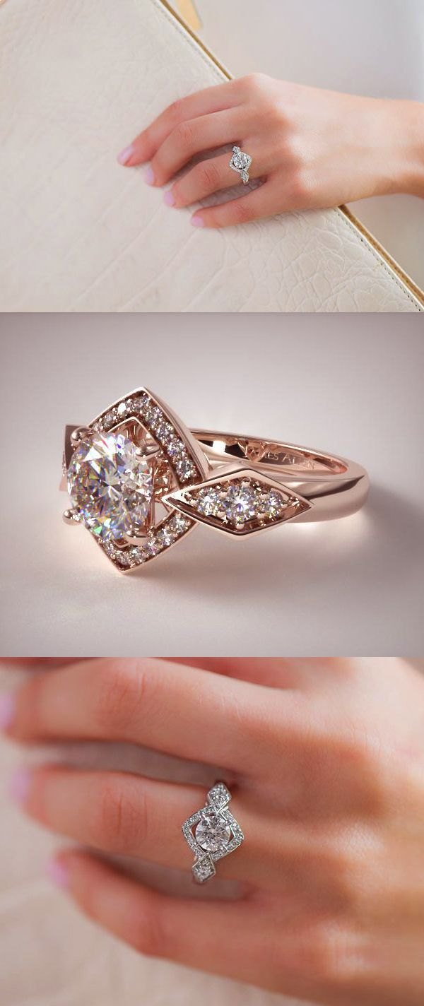 182 best rose gold capri jewelers arizona images on for Do jewelry stores finance engagement rings