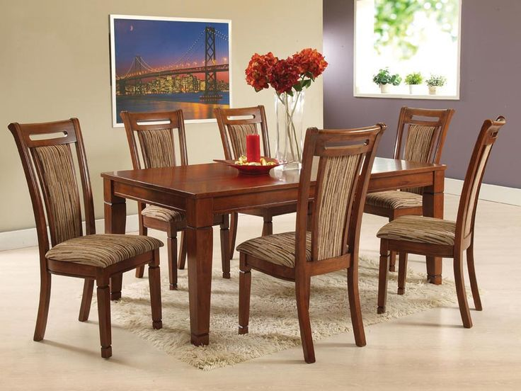 SANDANIA DINING SET - Timeless, classical and never outdated. the Sandania dining set  is a common favourite for dining spaces; 6 seater; PRICE : Rs. 71,500/-; Buy now: http://tfrhome.com/landing/productlandingpage.php?product_code=ds-10