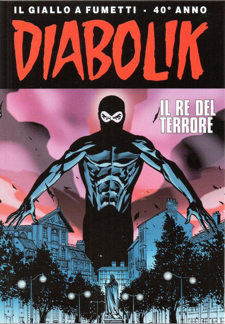 """PROMOCARD n. 084 2001 - DIABOLIK 084: """"Il re del terrore: il remake"""""""