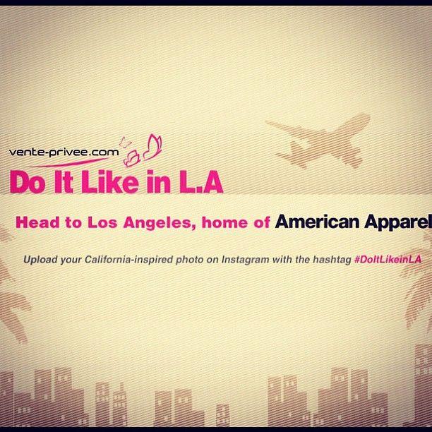 concours venteprivee americanapparel instagram 1 suivez le compte venteprivee sur. Black Bedroom Furniture Sets. Home Design Ideas