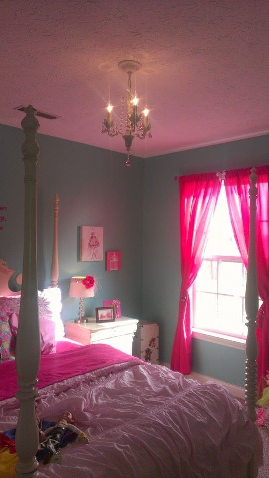 Aqua and pink girl 39 s bedroom for ainsley pinterest for Bedrooms and more