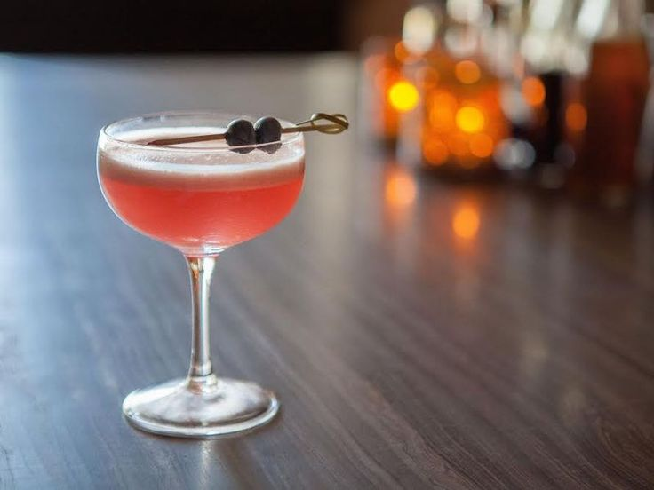 Red Ginger's Yogurt and Blueberry Gin Cocktail Recipe - Eater