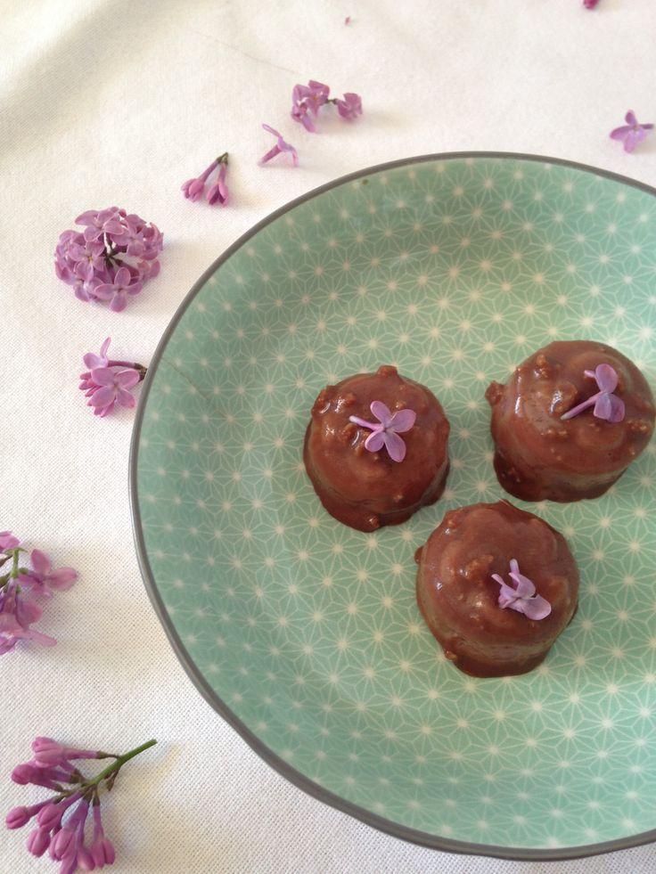Bonbons alle fragoline di bosco #glutenfree. Ora sul blog. #fragolinedibosco #bonbon #senzaglutine #cioccolatini