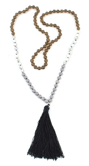 I am all about some tassels.