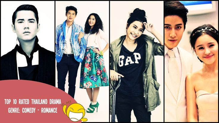 Top 10 Rated Thailand Drama |  Genre Comedy - Romances