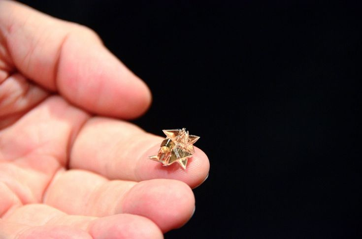 """Tiny Origami Robot Runs, Climbs, Lifts Loads, And Even """"Self-Destructs"""" Once Job Is Done Kids News Article"""