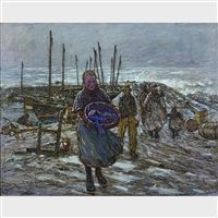 The return of the lobster fishers by Robert McGown Coventry