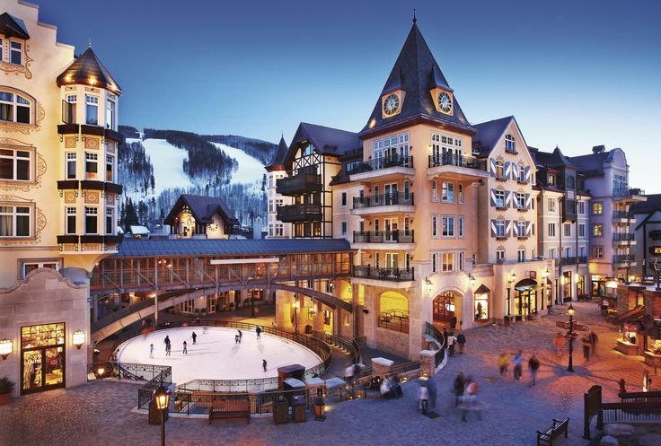 The Best American Ski Towns to Visit This Season via @domainehome