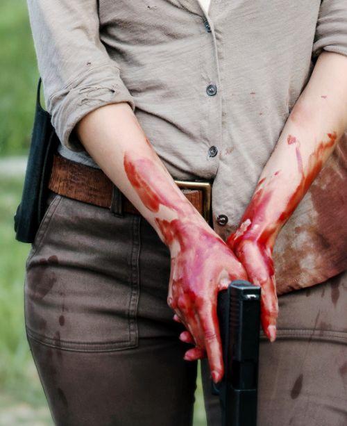"""The Walking Dead Season 6 Episode 2 """"JSS"""" Maggie Greene"""