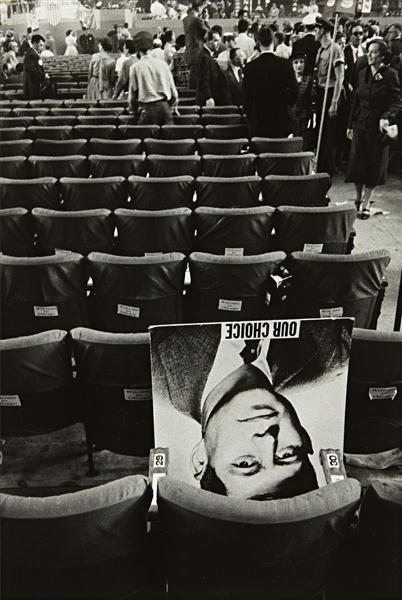 Robert Frank, Chicago Convention, 1956