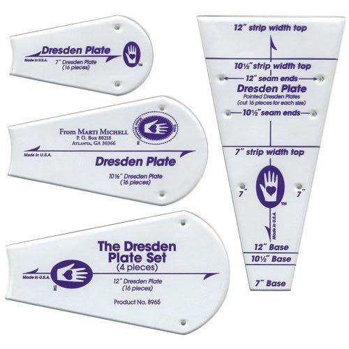Parfait modèle de Patchwork-Dresde plaque 4/Pqt Marti Mic... https://www.amazon.fr/dp/B0002J5GWQ/ref=cm_sw_r_pi_dp_x_X2nMyb95KMRD4