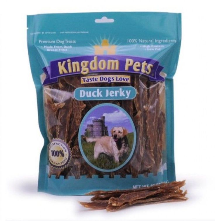 Kingdom Pets Premium Dog Treats, Duck Jerky, 40Ounce Bag