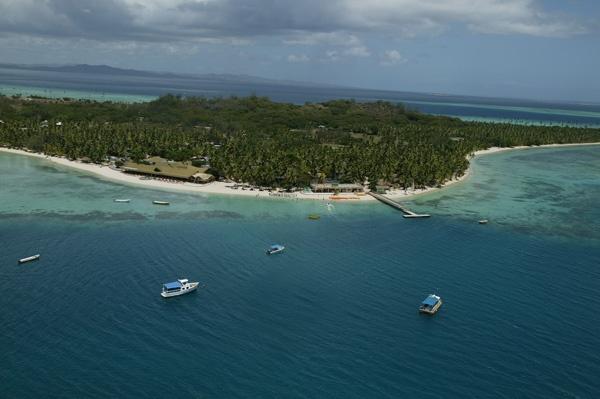 Plantation Island - Aerial View #Fiji