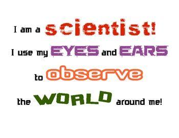 STEM Class Chant Poster