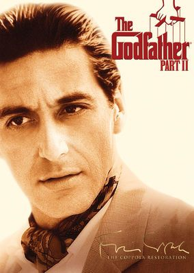 The Godfather: Part II (1974)  This second film in the trilogy explores the Corleone family roots, tracing Don Vito's journey from Sicily to a life of organized crime in New York.