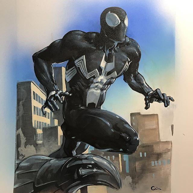 Spider-Man by Clayton Crain