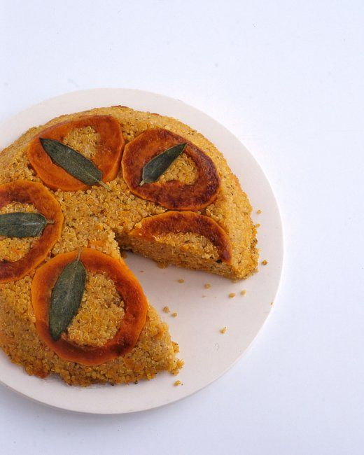 Quinoa Pie with Butternut Squash