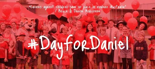 Safety for Kids Originally shared by Helen Dawson Save the Date  For kids everywhere!  #DayForDaniel Friday October 28.  Please help us spread our child safety messages across Australia! Schools, Businesses, Work Places, Community Groups and Individuals can participate.  This is a significant Day of Action on Child Safety Awareness. For more information about Day for Daniel visit www.danielmorcombe.com.au  Shared by +Platinum Apartments - Rivergarden  #dayfordaniel #australia #melbourne…