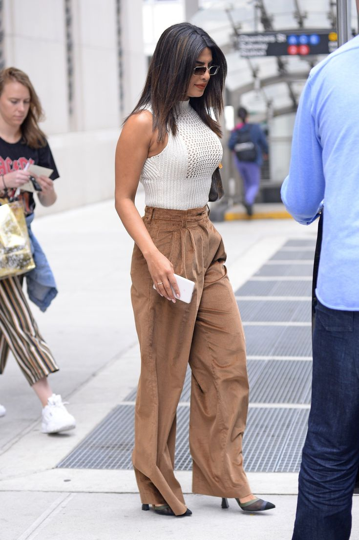 Priyanka Chopra Wears Christian Louboutin Stilettos in NYC