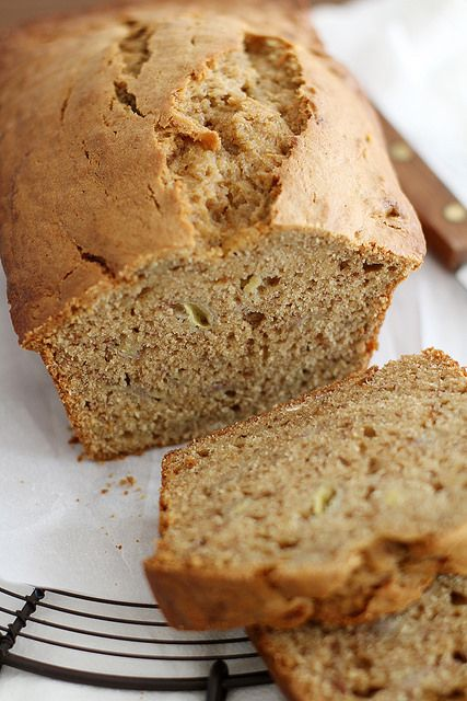 cookie butter banana bread by girlversusdough, via Flickr