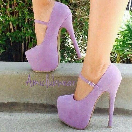 Sapato lilás