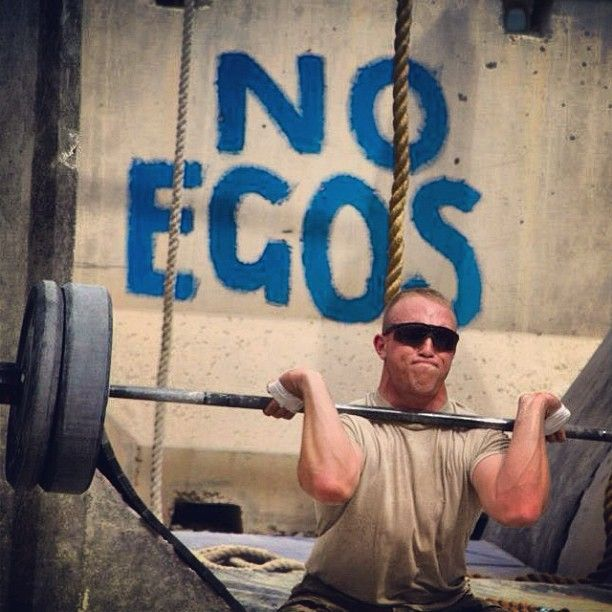 #crossfit #no #ego