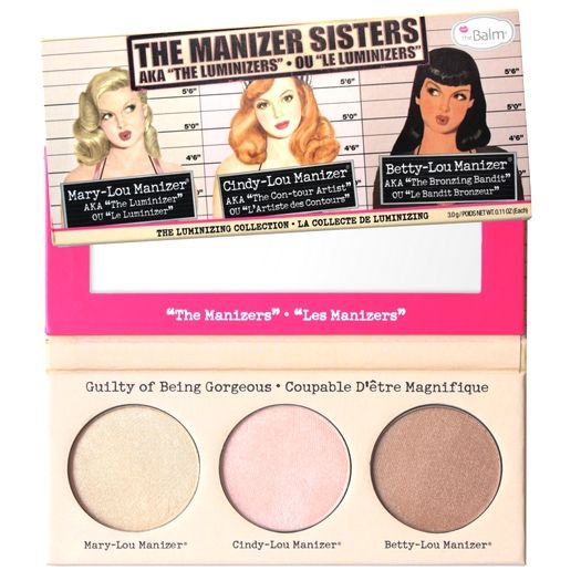 theManizer Sisters Luminizers Palette - The Balm