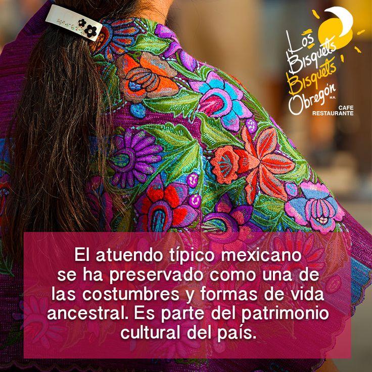#TrajesTípicos #Mexico #BisquetsObregón  #LBBO #Colores