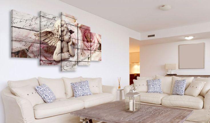 Obraz na plátně - Cherubic Reverie #canvas #prints #obraz #decor #inspirace #home #barvy #pictureframes #angel