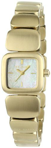 Ted Baker Women's TE4048 Right on Time Custom Square Analog Case Watch: Squares Analog, Cases Watches, Women Watches, Time Custom, Custom Squares, Baker Women, Women Te4048, Ted Baker, Analog Cases