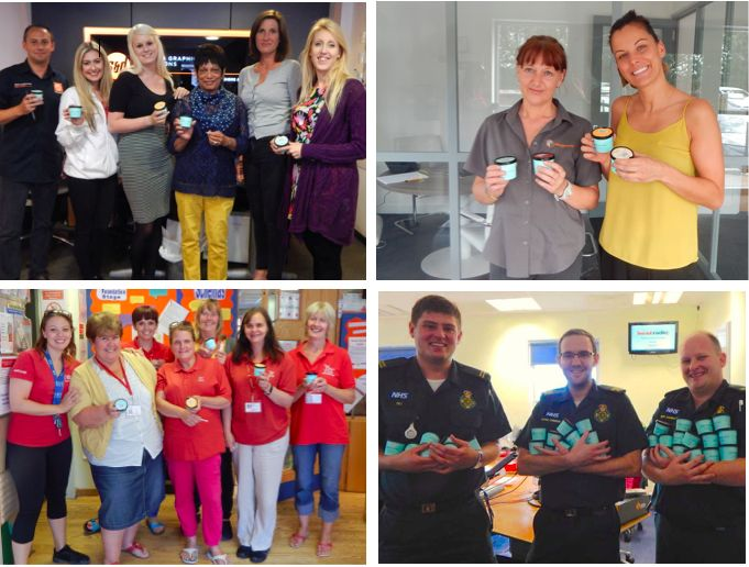 Some of the brilliant winners of our competition with Heart Kent Radio!