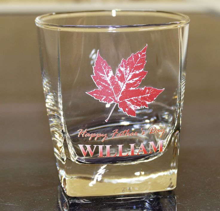 Whisky glass colour printed Photo Logo and text to suit your desire