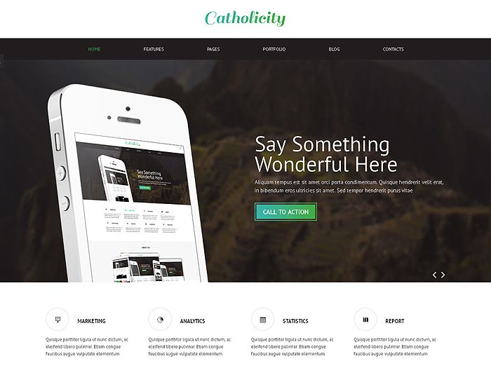 Fully Responsive Layout Bootstrap 3.2 HTML 5 / CSS 3 Retina Display Ready Vector Icon…