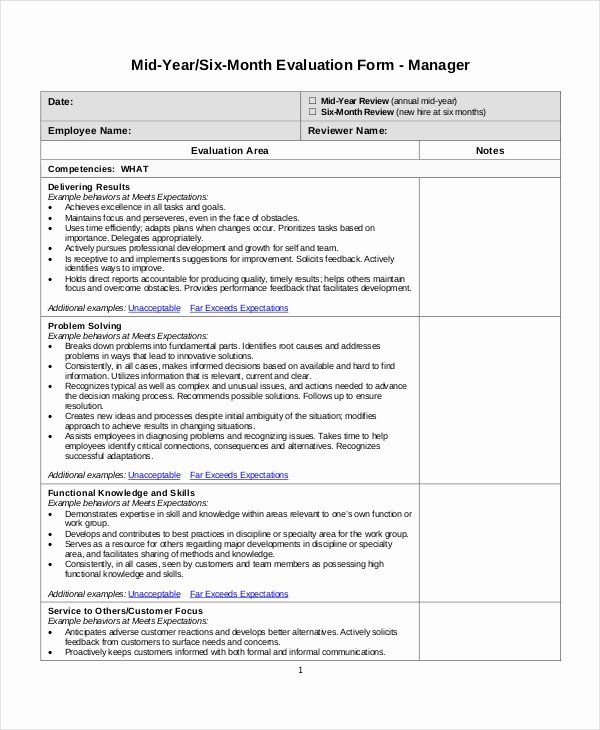 Employee Review Form Template Unique Employee Review Templates 13 Free Pdf Documents Employee Evaluation Form Evaluation Form Evaluation Employee