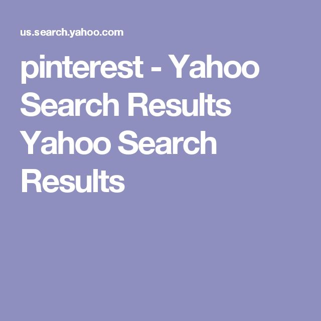 pinterest - Yahoo Search Results Yahoo Search Results