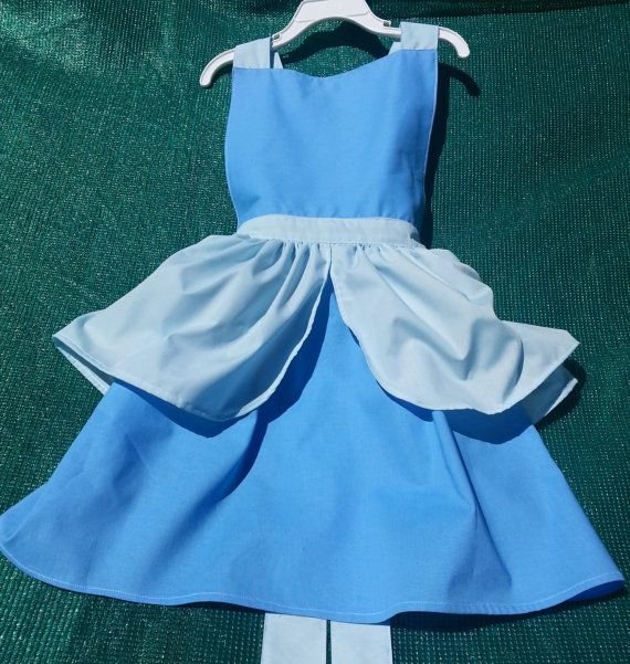 Inspired Princess Aprons Cinderella Aurora Belle by flightofwhimsy