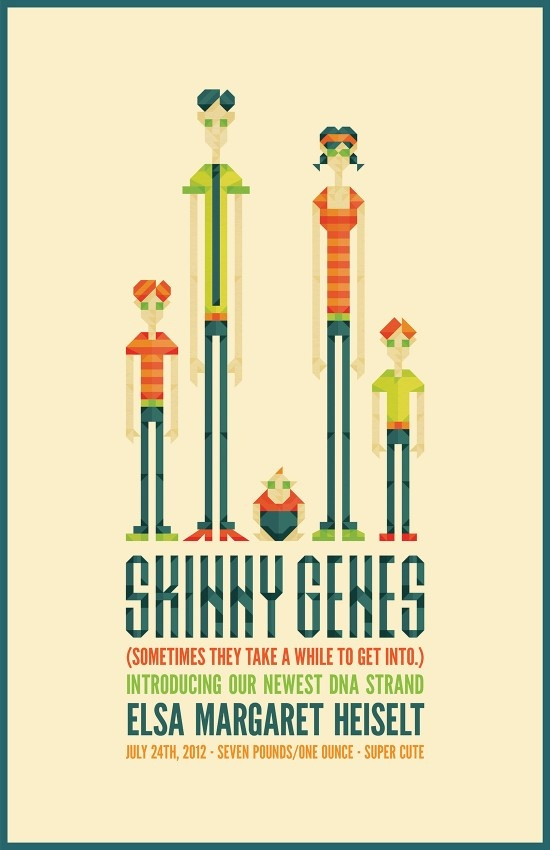 Skinny Genes - sometimes they take a while to get in to.