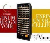 Gagnez un cellier à vin d'une valeur de 5 000$!
