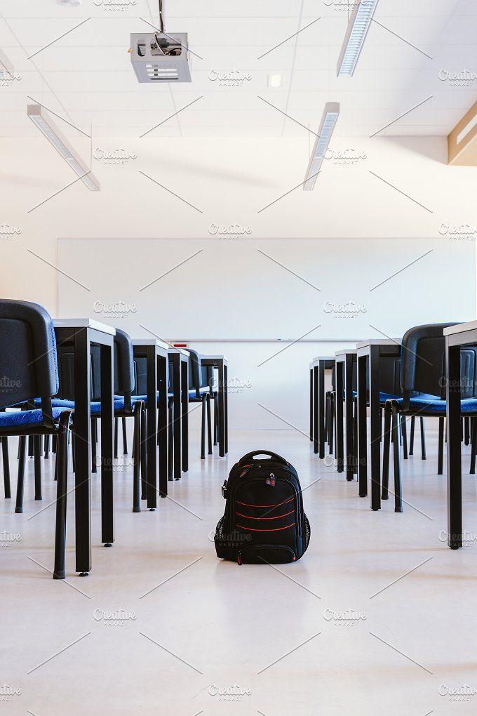 School backpack by OSORIOartist on @creativemarket