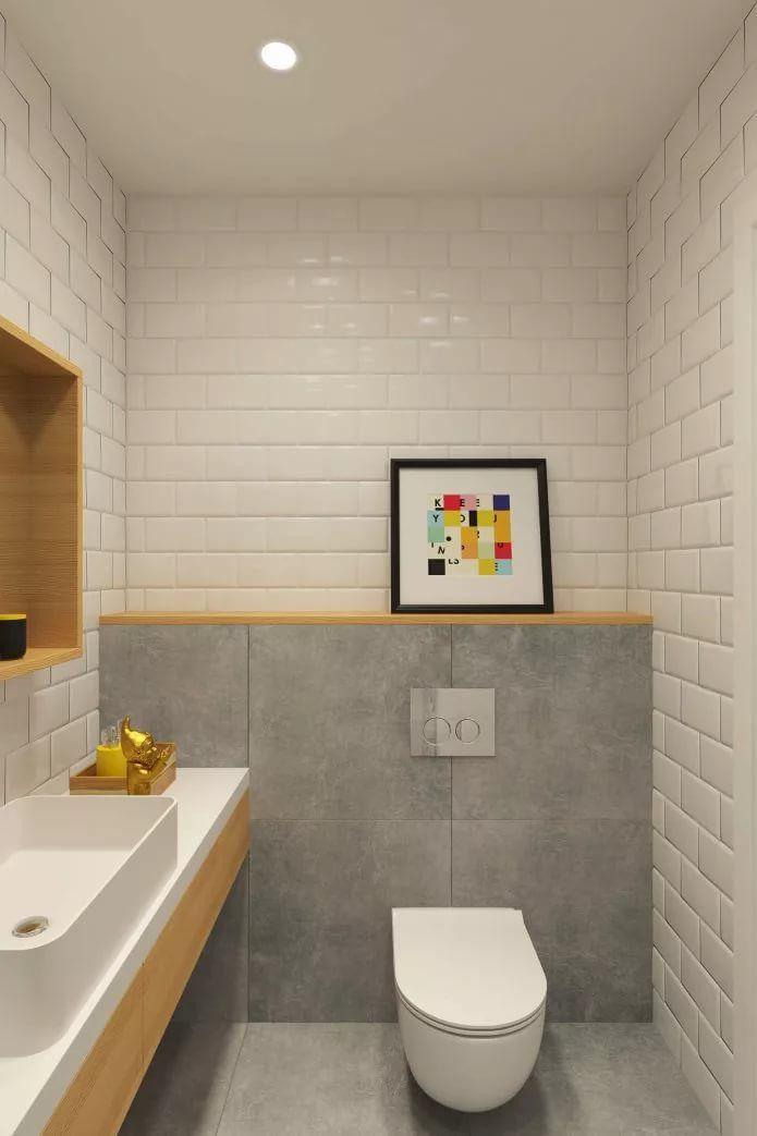 дизайн туалета без ванны фото 2019 современные идеи 3