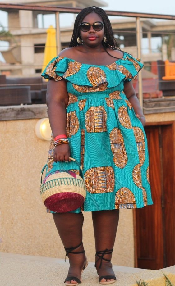 78dbf8f1051 Big and beautiful women ankara gown styles for plus size ladies